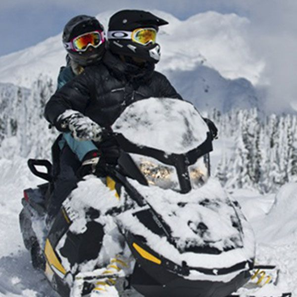 Snow Mobile - Moto de nieve