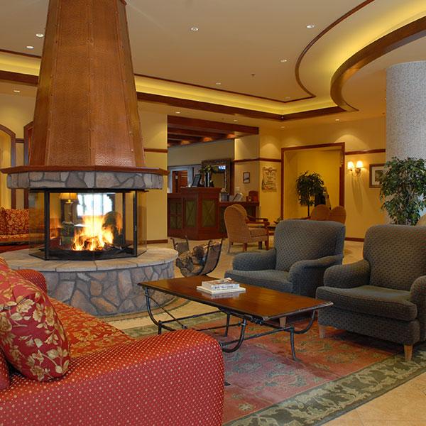 Sommet hotel lobby