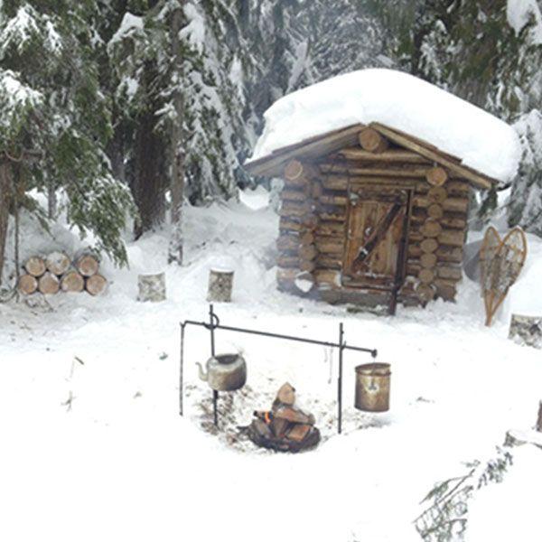 snowshoeing in Whistler - Raquetas de nieve