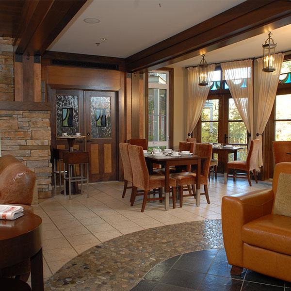 Ermitage du Lac Hotel Lobby