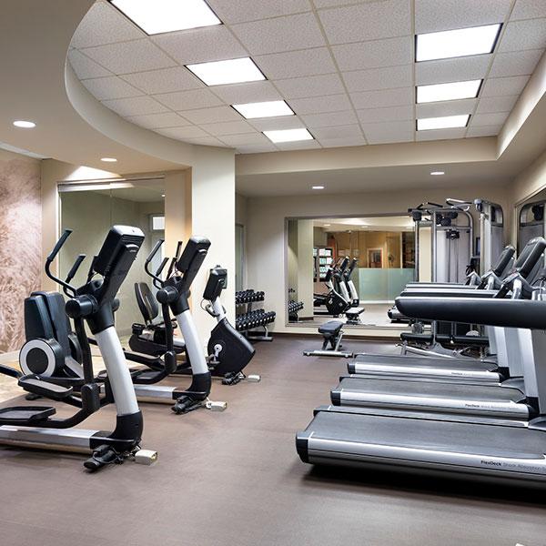 Westin hotel gym